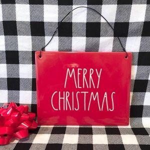 Rae Dunn MERRY CHRISTMAS sign